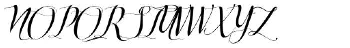Turia Font UPPERCASE