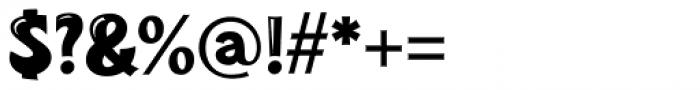 Turkuaz Deco Font OTHER CHARS