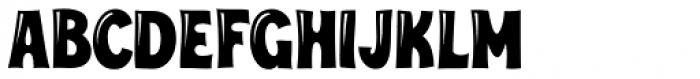 Turkuaz Deco Font UPPERCASE