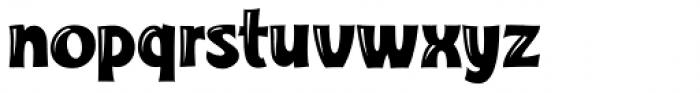Turkuaz Deco Font LOWERCASE