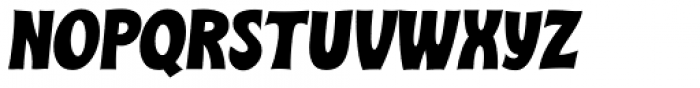 Turkuaz Italic Font UPPERCASE