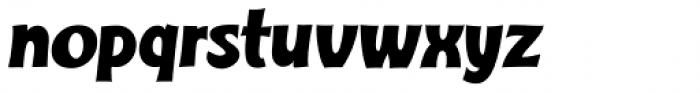 Turkuaz Italic Font LOWERCASE