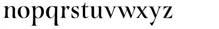 Turquoise Font LOWERCASE
