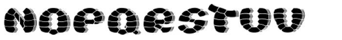 Turtle Black Shadow Font LOWERCASE