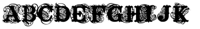 Tuscabaro Font UPPERCASE