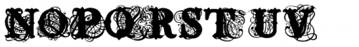 Tuscabaro Font LOWERCASE