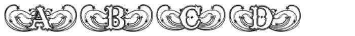 Tuska Blend Medium Font LOWERCASE