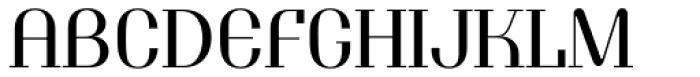Tuxedo Normal Font UPPERCASE