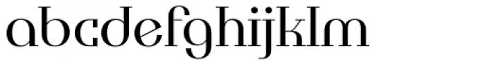 Tuxedo Normal Font LOWERCASE