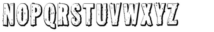 Tuzonie Neg Semi Cond Font UPPERCASE