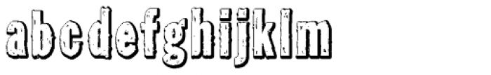 Tuzonie Neg Semi Cond Font LOWERCASE