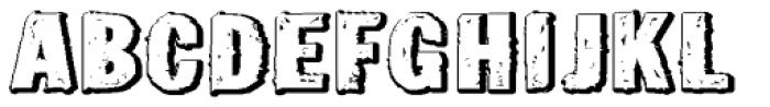 Tuzonie Neg Ult Expd Font UPPERCASE