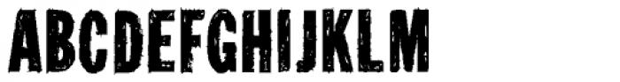 Tuzonie Semi Cond Font UPPERCASE