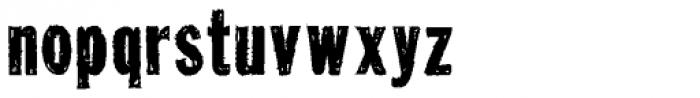 Tuzonie Semi Cond Font LOWERCASE