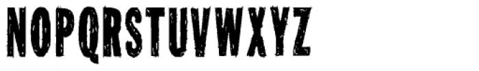 Tuzonie XCond Font UPPERCASE