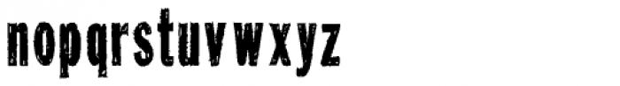 Tuzonie XCond Font LOWERCASE
