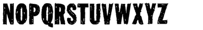 Tuzonie Font UPPERCASE