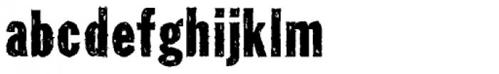 Tuzonie Font LOWERCASE