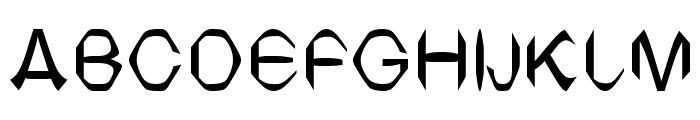 TV Arial Font UPPERCASE