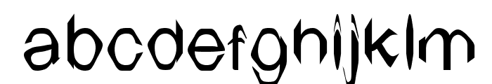 TV Arial Font LOWERCASE