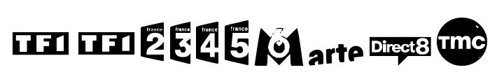 TV FRANCE Font OTHER CHARS