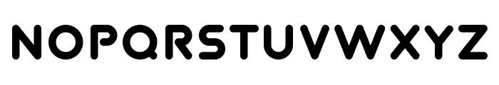 TVA 2012 Font UPPERCASE