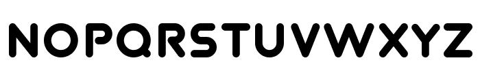 TVA 2012 Font LOWERCASE