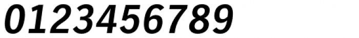 TV Nord EF Bold Oblique Font OTHER CHARS