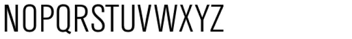 TV Nord EF Cond Light Font UPPERCASE