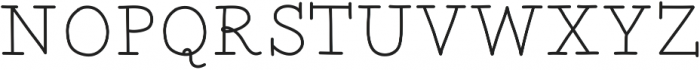 TwentyFourHoursTilDawn ttf (400) Font UPPERCASE