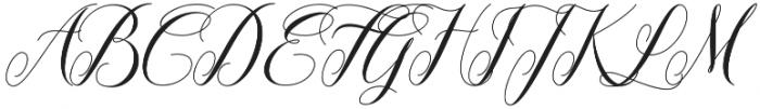 Twetter otf (400) Font UPPERCASE