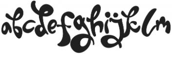 Twice otf (400) Font LOWERCASE