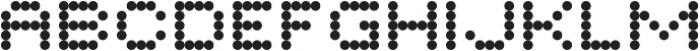 Twiddlybitz-Dotz otf (400) Font UPPERCASE