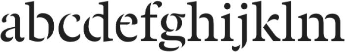 Twine otf (400) Font LOWERCASE