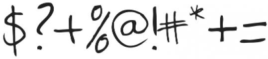 Twingo otf (400) Font OTHER CHARS