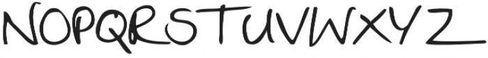 Twingo otf (400) Font LOWERCASE