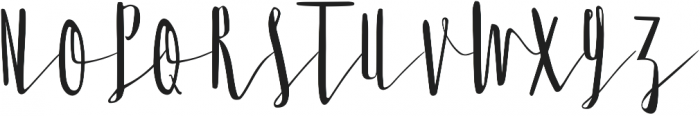 Twisted Willow otf (400) Font UPPERCASE