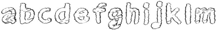 Twisty Fab-01 Bold otf (700) Font LOWERCASE