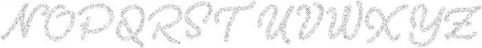 Two Fingers Script Jeans otf (400) Font UPPERCASE