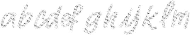Two Fingers Script Jeans otf (400) Font LOWERCASE
