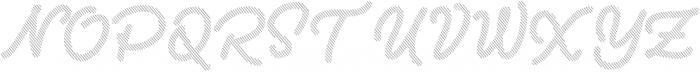 Two Fingers Script Shadow otf (400) Font UPPERCASE