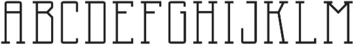 Two Letter Monogram Inline otf (400) Font UPPERCASE