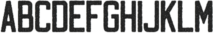 Two Shots Rough Aged otf (400) Font LOWERCASE
