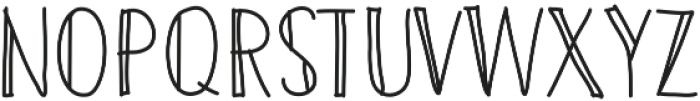 Twoadventurersstyle ttf (400) Font UPPERCASE