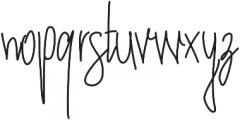 Twoadventurersstyle ttf (400) Font LOWERCASE