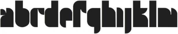 Twooth Regular otf (400) Font UPPERCASE