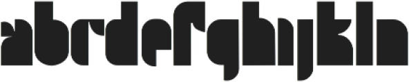 Twooth Regular otf (400) Font LOWERCASE