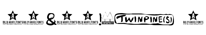 TWINPINES Font OTHER CHARS