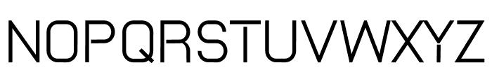 TWI_Bold Font UPPERCASE