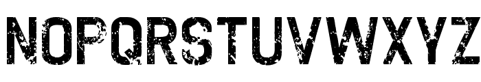 TWOFOLD uncomplete DeSigN Font UPPERCASE